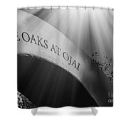 The Oaks At Ojai Shower Curtain