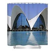 The Oceanografic Valencia Shower Curtain