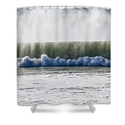 The Oceans Energy Shower Curtain