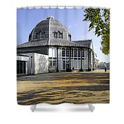 The Octagon - Buxton Pavilion Gardens Shower Curtain