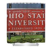The Ohio State University Shower Curtain