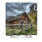 The Ol' Barn Shower Curtain