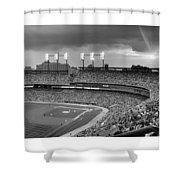 The Old Ballgame Shower Curtain