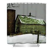 The Old Barn 4 Shower Curtain