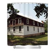 The Old Barn Shower Curtain