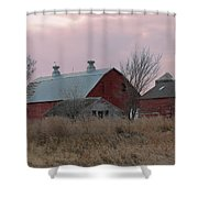 The Old Barns Shower Curtain