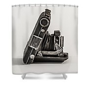 The Old Camera Shower Curtain