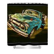 The Old Chevy Max Shower Curtain