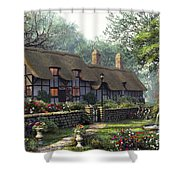 The Old Cottage Shower Curtain