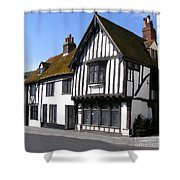 The Old Court Hall Hastings Shower Curtain