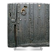The Old Door Shower Curtain by France  Art