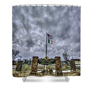 The Old First Ward Shower Curtain