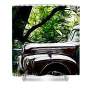 The Old Ford Truck Shower Curtain