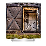 The Old Fort Gate-color Shower Curtain