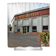The Old Grand Marnier Distillery Shower Curtain