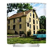 The Old Grist Mill  Paoli Pa. Shower Curtain