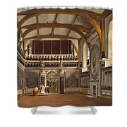 The Old Guard Chamber, The Round Tower Shower Curtain