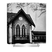 The Old House Shower Curtain by Marco Oliveira