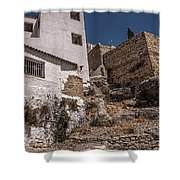 The Old Houses Of Ronda. Andalusia. Spain Shower Curtain