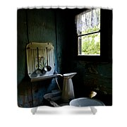 The Old Kitchen Shower Curtain