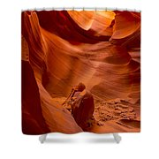The Old Man Of The Canyons Shower Curtain