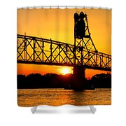 The Old Mighty Span Shower Curtain