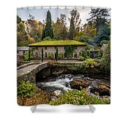 The Old Mill Shower Curtain by Adrian Evans