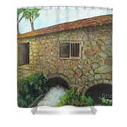 The Old Mill In Dubrovnik Shower Curtain