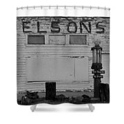 The Old Nelsons Station Shower Curtain