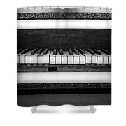 The Old Piano Shower Curtain
