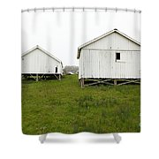 The Old Pierce Point Ranch At Foggy Point Reyes California 5d28140 Shower Curtain