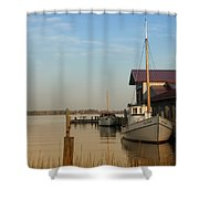 The Old Point - St Michaels  Shower Curtain