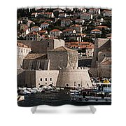 The Old Port Of Dubrovnik Shower Curtain