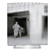 The Old Quarter Shower Curtain