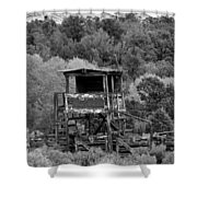 The Old Rodeo Grounds Shower Curtain