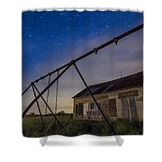 The Old Schoolhouse Shower Curtain