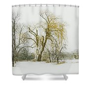 The Old Shack Shower Curtain