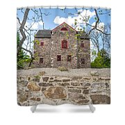 The Old Sone Barn At The Highlands Shower Curtain