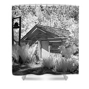 The Old Spring House Shower Curtain
