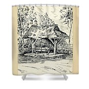The Old Stocks Walsall Shower Curtain