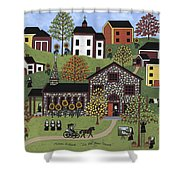The Old Stone Convent Shower Curtain