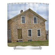 The Old Stone House Shower Curtain
