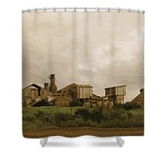 The Old Sugar Mill At Koloa Shower Curtain