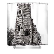 The Old Tower Shower Curtain