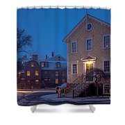 The Old Town House Shower Curtain