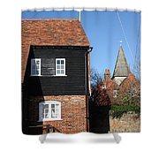 The Old Water Mill Bosham Shower Curtain