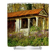The Old Well House Shower Curtain