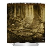 The Old West Shower Curtain