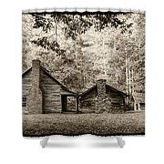 The Old Whitehead Place E211 Shower Curtain