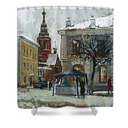 The Old Yaroslavl Shower Curtain